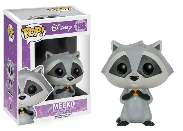 Funko Pop Disney Pocahontas Meeko #198