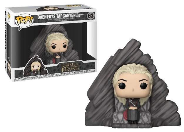 Funko Pop Game of Thrones Daenerys Dragonstone Thron #63