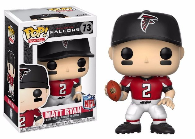 Funko Pop NFL Atlanta Falcons Matt Ryan #73