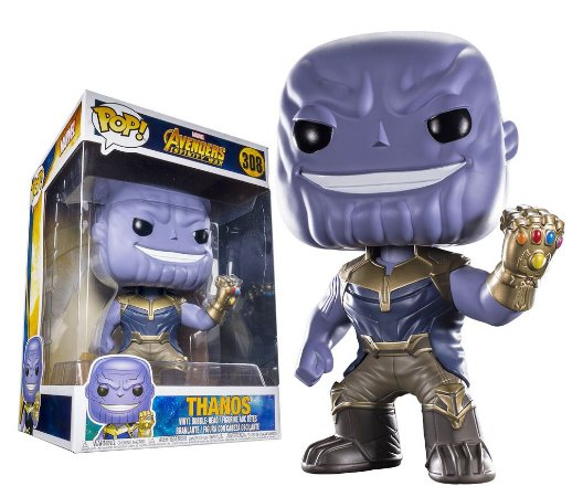 Funko Pop Marvel Avengers Infinity War Thanos Super Size #308
