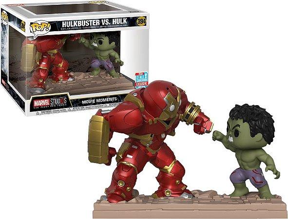 Funko Pop Marvel Movie Moments Hulkbuster vs Hulk Nycc 18 #394
