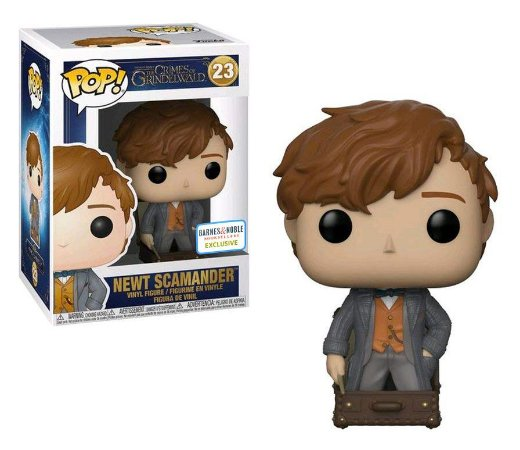 Funko Pop Animais Fantásticos 2 Fantastic Beasts Newt Scamander Exclusivo #23