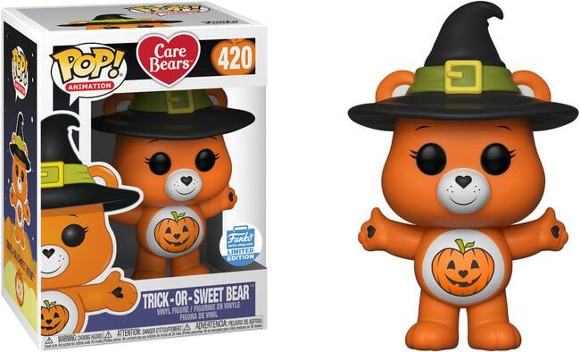 Funko Pop Ursinhos Carinhosos Care Bears - Trick Or Sweet Bear Exclusivo Funko Shop #420