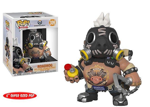 Funko Pop Overwatch Roadhog Super Size #309