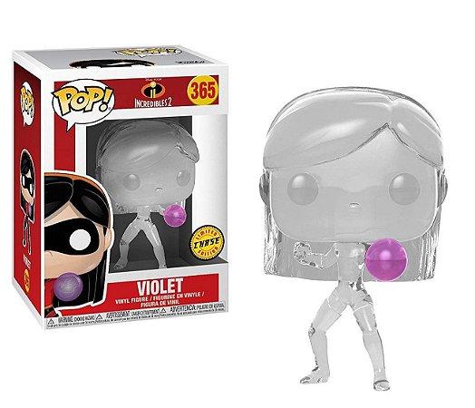 Funko Pop Disney Os Incríveis 2 Incredibles Violet Chase #365