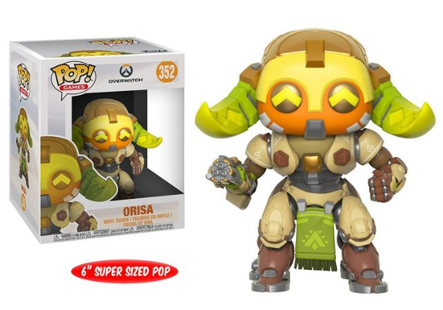 Funko Pop Overwatch Orisa Super Size #352