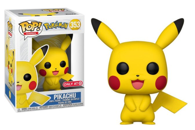 Funko Pop Pokémon Pikachu Exclusivo #353