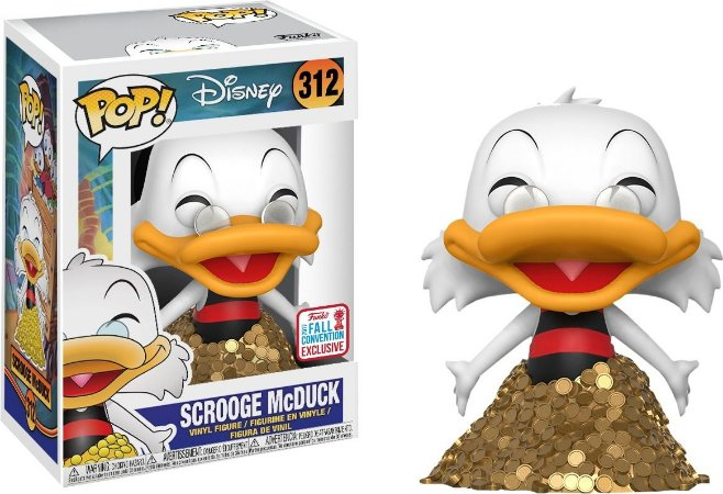 Funko Pop Disney Tio Patinhas Scrooge McDuck Exclusivo NYCC #312