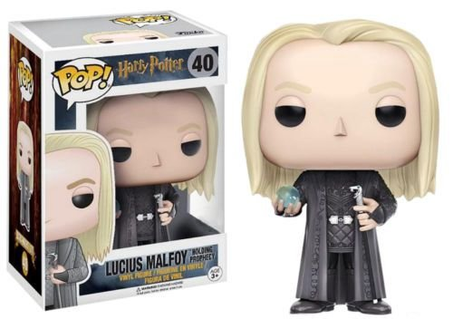 Funko Pop Harry Potter Lucius Malfoy Holdin Prophecy Profecia Exclusivo #40