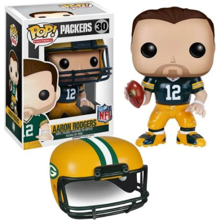 Funko Pop NFL Green Bay Packers Aaron Rodgers #30