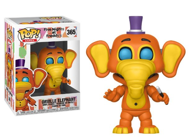 Funko Pop Five Nights At Freddys FNAF Orville Elephant #365