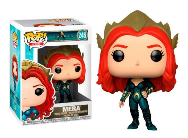 Funko Pop DC Aquaman Mera #246