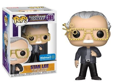 Funko Pop Marvel Guardiões da Galáxia Stan Lee Exclusivo Walmart #281