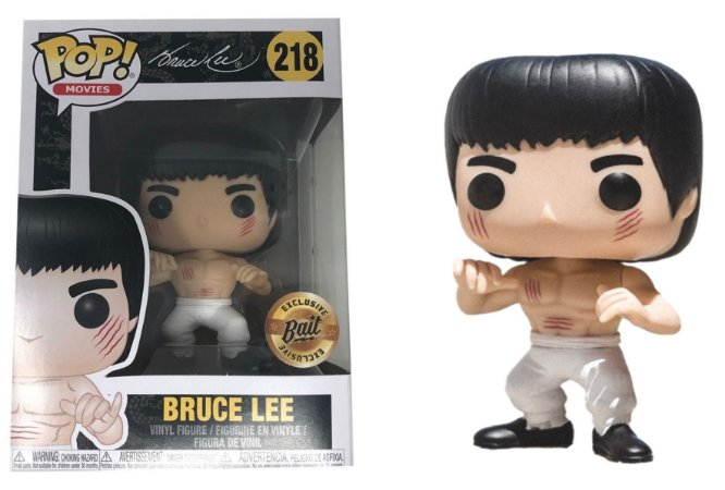 Funko Pop Bruce Lee Exclusivo Bait #218