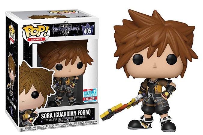 Funko Pop Disney Kingdom Hearts Sora Guardian Form Exclusivo NYCC 18 #405