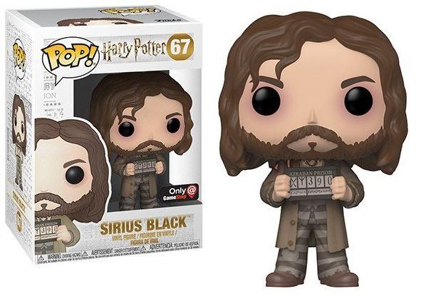Funko Pop Harry Potter Sirius Black Exclusivo Gamestop #67