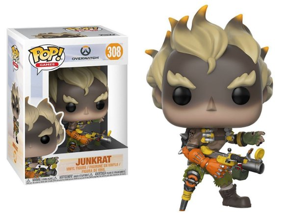 Funko Pop Overwatch Junkrat #308