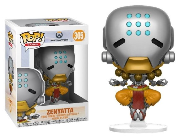 Funko Pop Overwatch Zenyatta #305