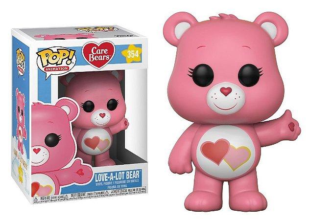 Funko Pop Ursinhos Carinhosos Care Bears Lot a Lot Bear #354