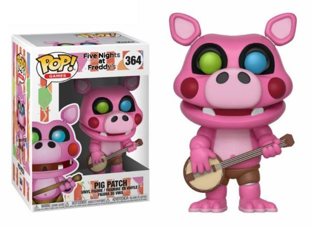 Funko Pop Five Nights At Freddys FNAF Pig Patch #364
