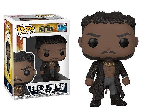 Funko Pop Marvel Pantera Negra Black Panther Erik Killmonger #386