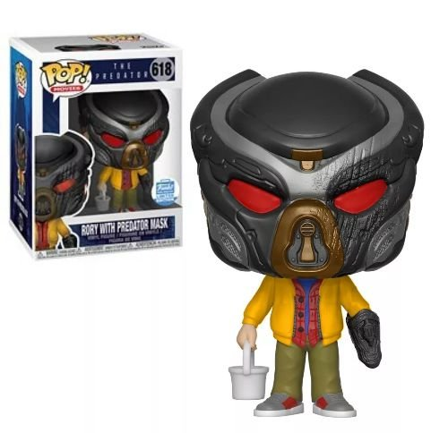 Funko Pop The Predator Rory W/ Predator Mask Exclusivo #618