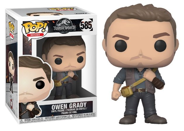 Funko Pop Jurassic World Owen Grady #585