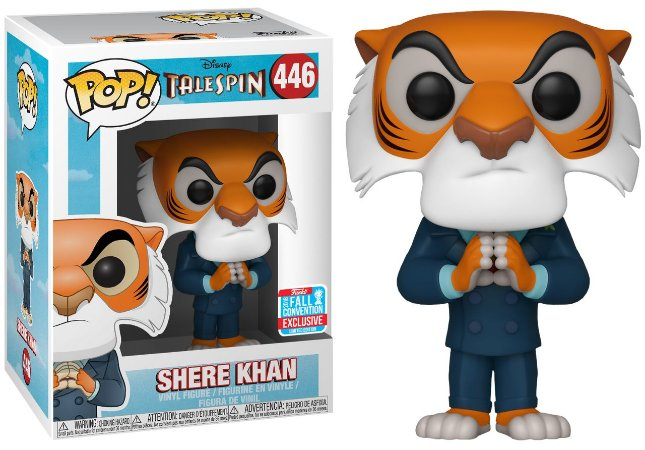 Funko Pop Disney Telespin Shere Khan Exclusivo NYCC18 #446