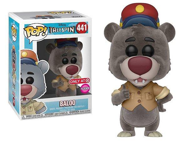 Funko Pop Disney Telespin Baloo Exclusivo Flocked #441
