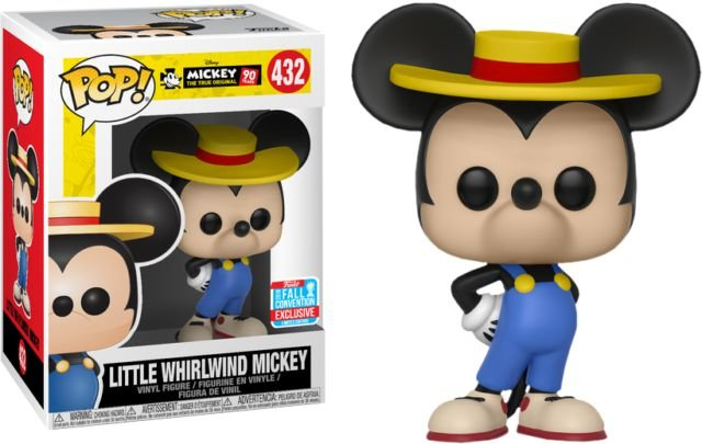 Funko Pop Disney Mickey's 90th - Little Whirlwind Mickey Exclusivo NYCC18 #432