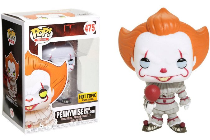 Funko Pop Terror IT Pennywise With Balloon Exclusivo #475