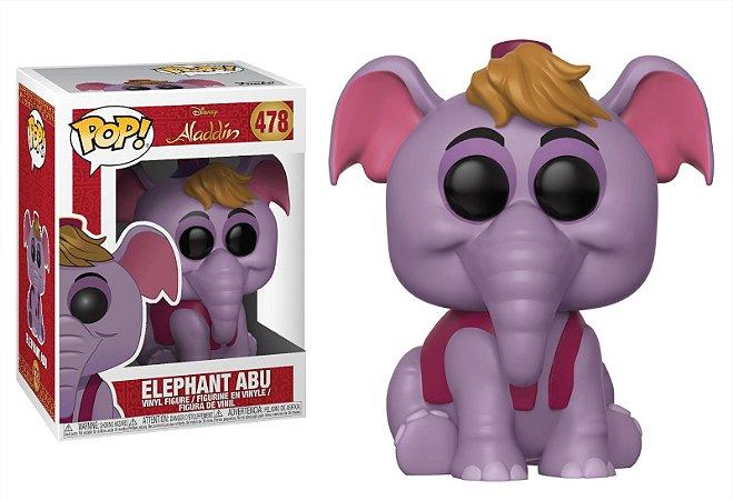 Funko Pop Disney Aladdin Elephant Abu #478