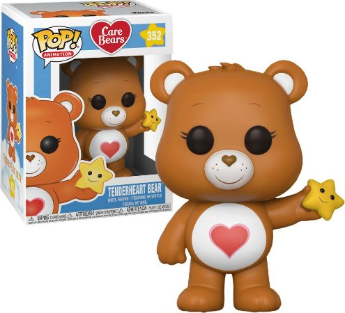 Funko Pop Ursinhos Carinhosos Care Bears Tenderheart Bear #352