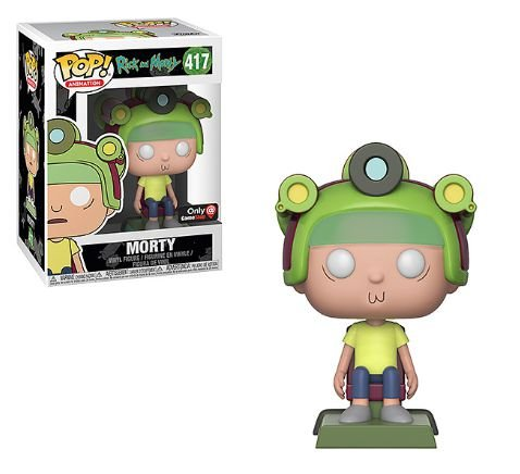 Funko Pop Rick and Morty - Morty Exclusivo Gamestop #417