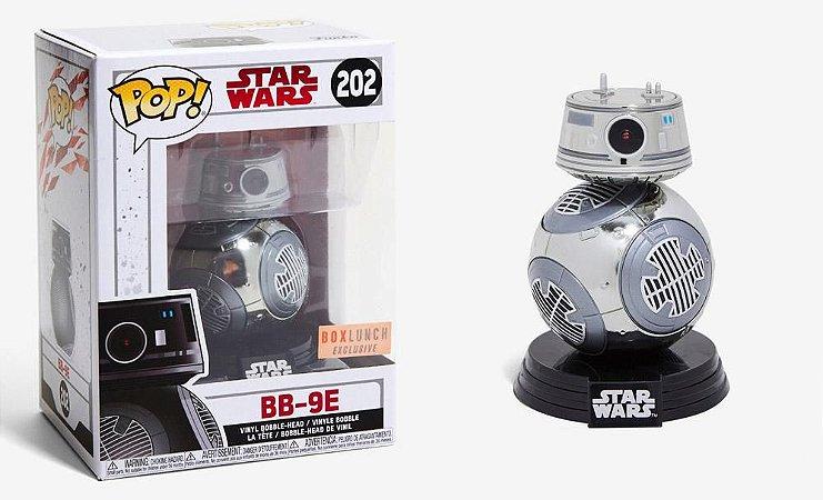 Funko Pop Star Wars BB-9E Exclusivo Box Lunch #202