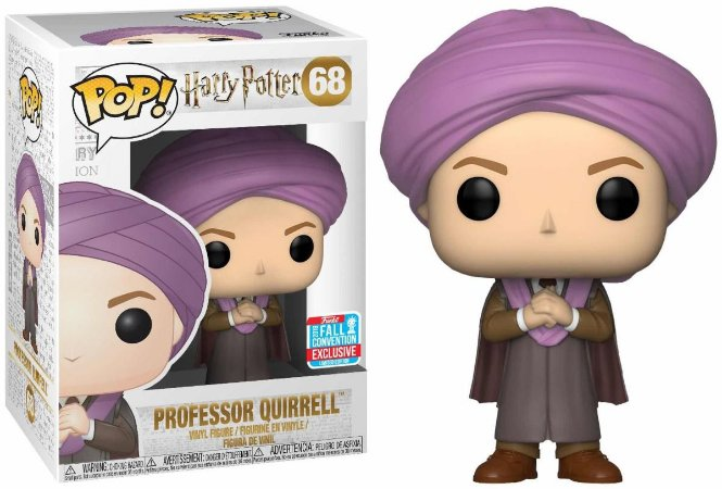 Funko Pop Harry Potter Professor Quirrell Exclusivo NYCC18 #68