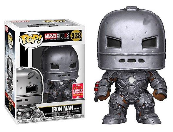 Funko Pop Marvel Studios 10 Years - Iron Man Mask 1 Exclusivo SDCC18 #338