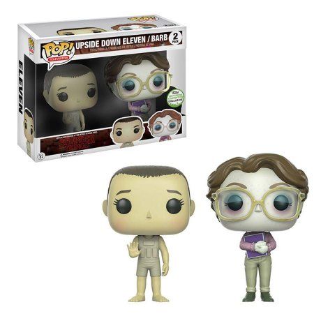 Funko Pop Stranger Things Upside Down Eleven e Barb 2 Pack Exclusivo ECCC17