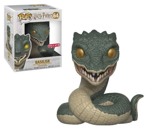"Funko Pop Harry Potter Basilisk 6"" Exclusivo #64"