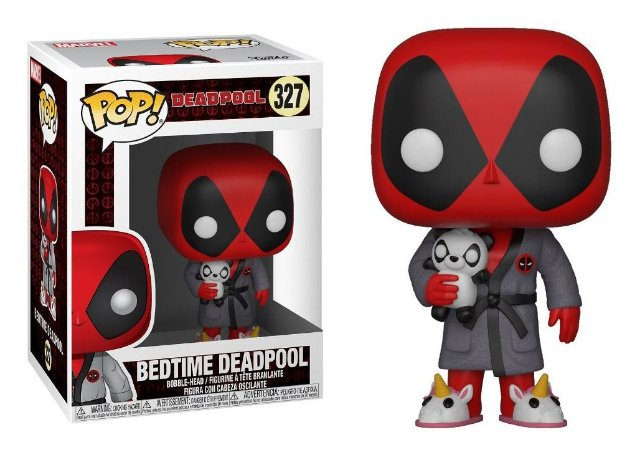 Funko Pop Marvel Bedtime Deadpool #327