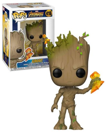 Funko Pop Marvel Avengers Infinity War Groot #416