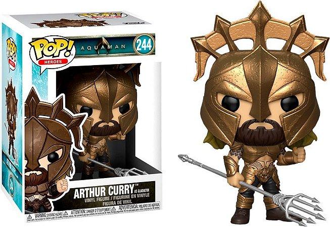 Funko Pop DC Aquaman Arthur Curry Gladiador #244