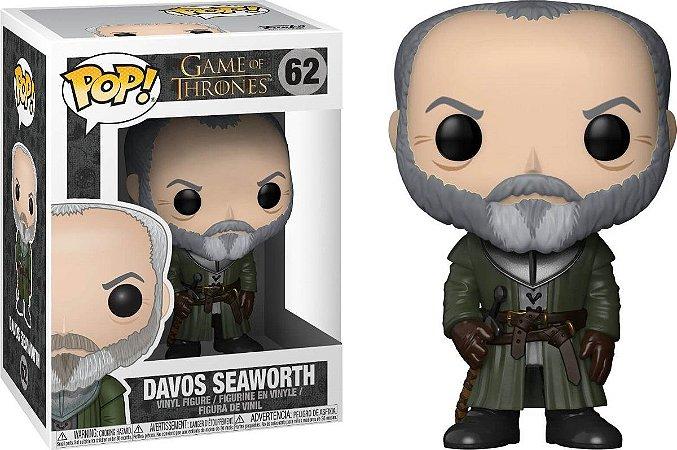 Funko Pop Game of Thrones Davos Seaworth #62