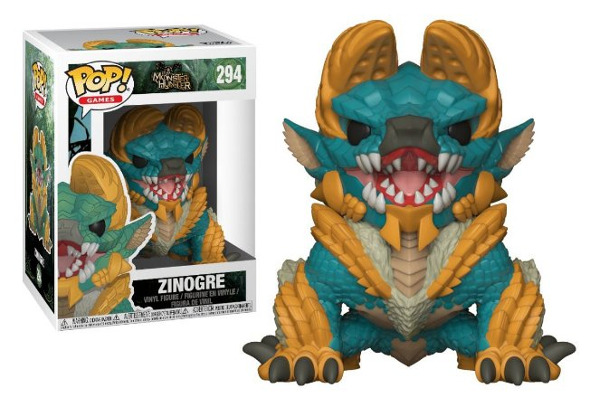 Funko Pop Monster Hunter Zinogre #294