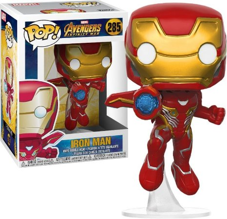 Funko Pop Marvel Avengers Infinity War Iron Man Homem de Ferro #285
