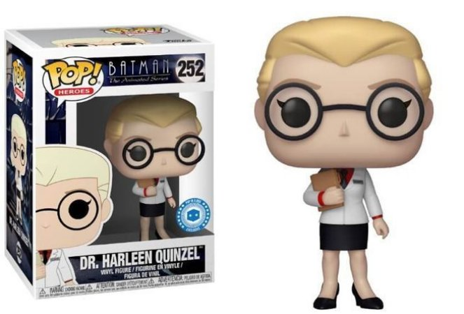 Funko Pop DC Batman The Animated Series Dr. Harleen Quinzel Exclusivo #252