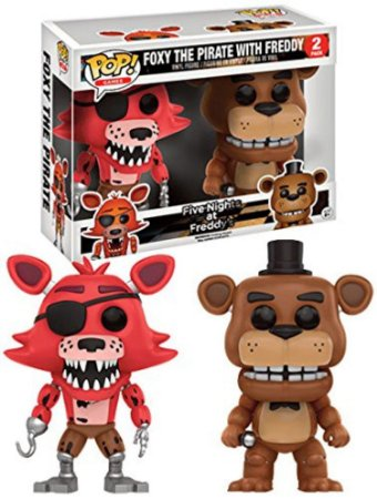 Funko Pop Five Nights At Freddy's FNAF Foxy The Pirate with Freddy Pack Exclusivo Fye