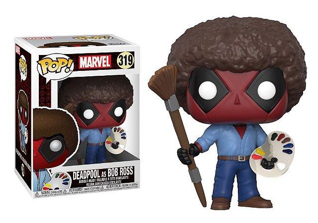 Funko Pop Marvel Deadpool as Bob Ross #319