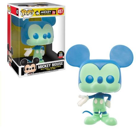 "Funko Pop Disney Mickey's 90th - Mickey Blue and Green 10"" Exclusivo #457"