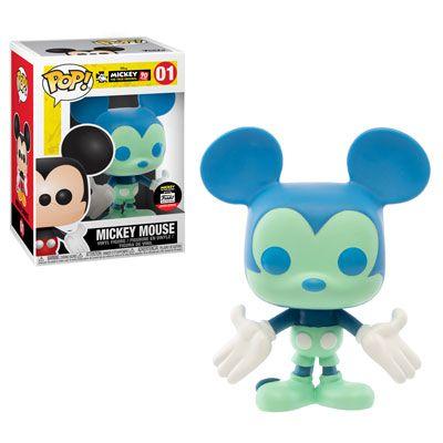 Funko Pop Disney Mickey's 90th - Mickey Blue E Green Exclusivo #01
